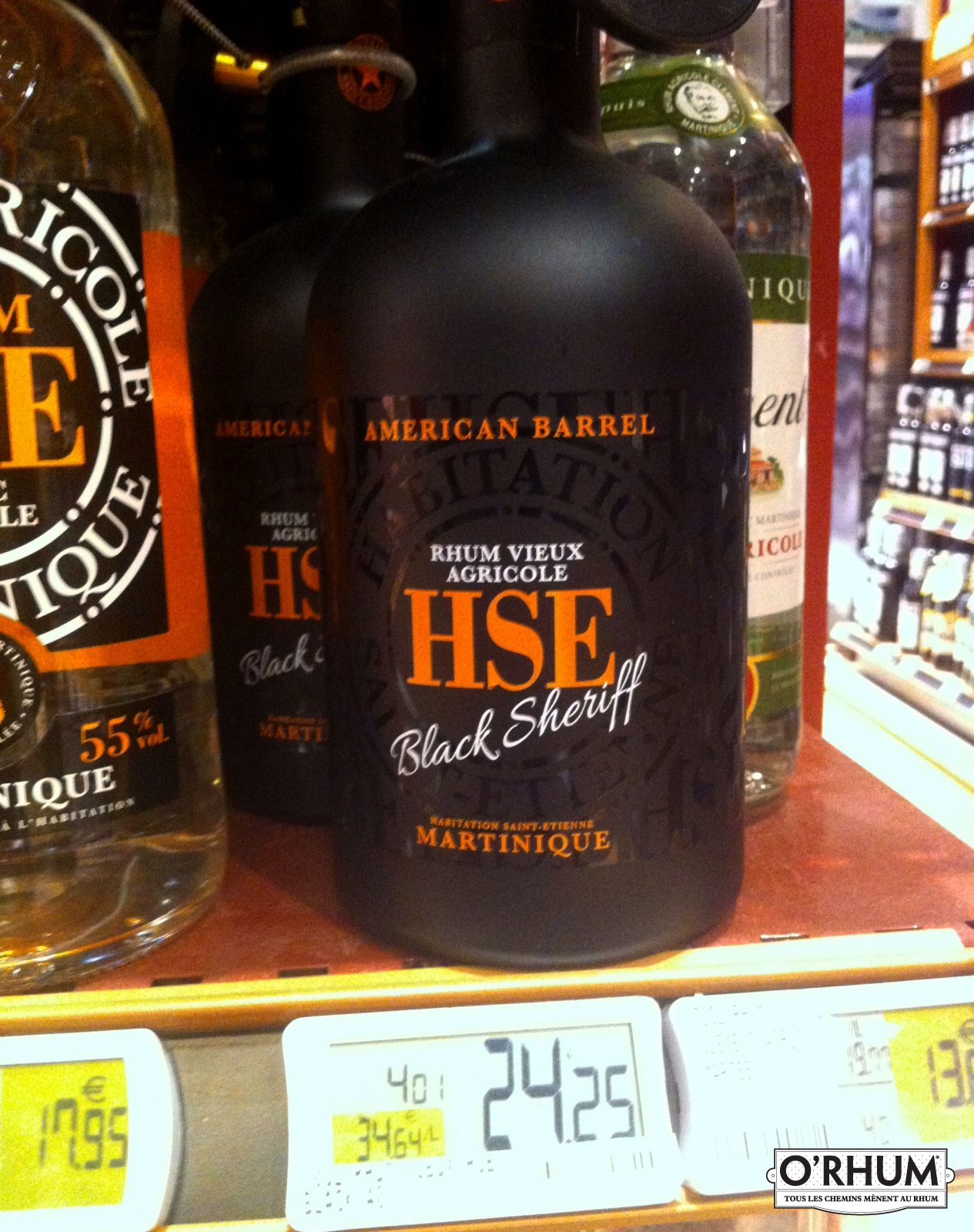 rhum HSE black sheriff